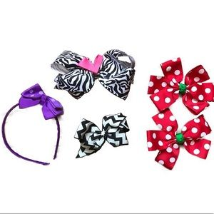 Other - 🐠 3 for $15 🐠 Hair accessories head band w/ bow